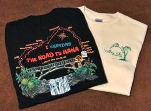 I survived the road to Hana T-shirts